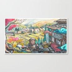 Majik 01 Canvas Print
