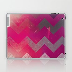 PINK Chevron Laptop & iPad Skin