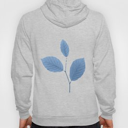 Frozen Leaves before Spring Hoody