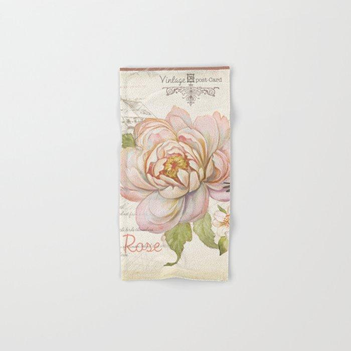 Macro flower #9 Hand & Bath Towel
