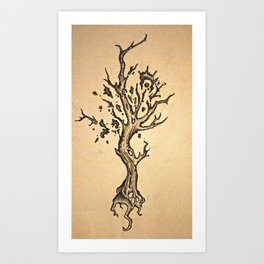 deeply rooted Art Print