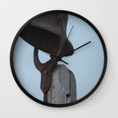 Old Bell Wall Clock