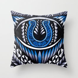 Colts Poly Style Throw Pillow