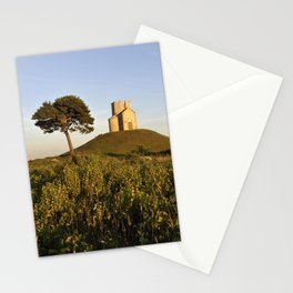 Old Church and Tree, Croatia Stationery Cards