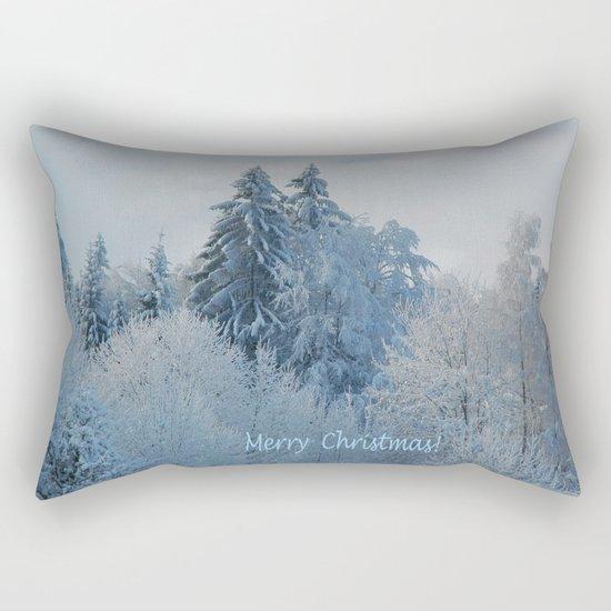 After the snowfall (Merry Christmas!) Rectangular Pillow
