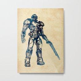 Doom Marine Metal Print