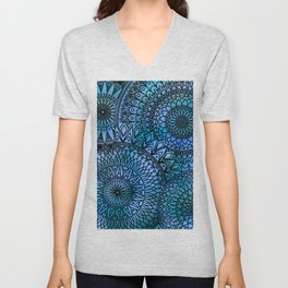 Shifting Currents - LaurensColour Unisex V-Neck