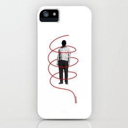 Red Thread 1 iPhone Case
