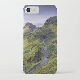 The Road to the Quiraing iPhone Case