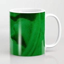 Green Velvet Dune Textile Folds Concept Photography Coffee Mug