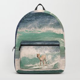 NEVER STOP EXPLORING - SURFING HAWAII Backpack