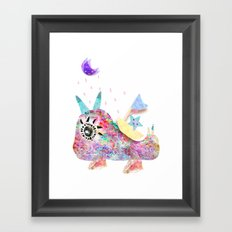 I'll protect for you Framed Art Print