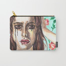 Sad Clown Carry-All Pouch