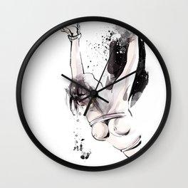 Shibari - Japanese BDSM Art Painting #15 Wall Clock
