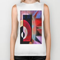 asian Biker Tanks featuring Asian Lights by Kristine Rae Hanning