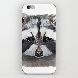 Rhubarb the Raccoon iPhone Skin