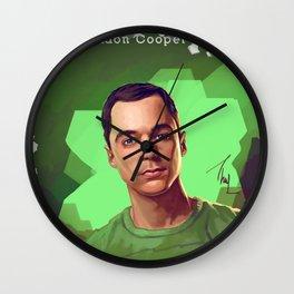 Dr. Cooper No. 2. Wall Clock