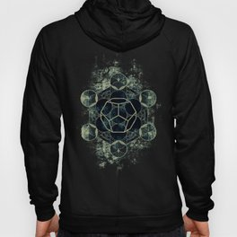 Sacred Geometry for your daily life -  Platonic Solids - ETHER Hoody