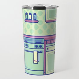 Pixel Kitchen Travel Mug