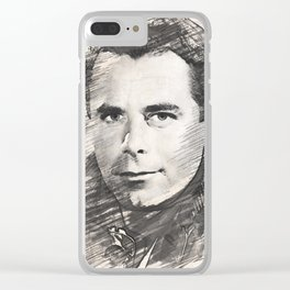 Glenn Ford Clear iPhone Case
