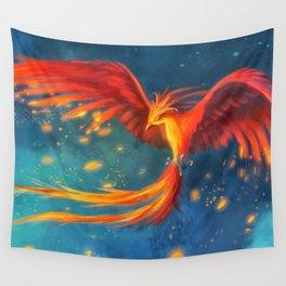 Beautiful phoenix Wall Tapestry