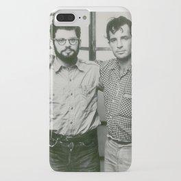 Allen Ginsberg and Jack Kerouac iPhone Case