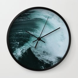 Surf Photography - Wave Wall Clock