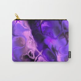 The Love For Violet Purple - Fractal Art Carry-All Pouch