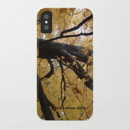 October branches iPhone Case