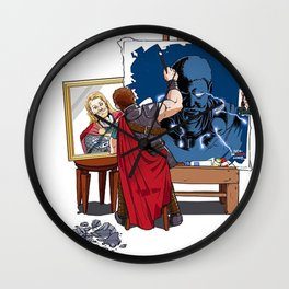Thor's Second Job Wall Clock