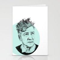 lynch Stationery Cards featuring David Lynch by Ruth Hannah