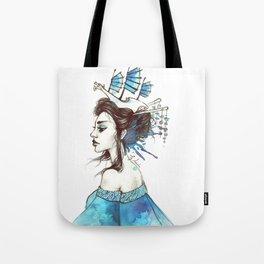 Of Oceans Far Tote Bag
