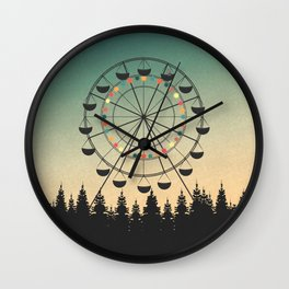 Take a Ride Wall Clock