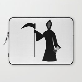 New Year Icon Father Time Laptop Sleeve