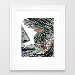 Feelings Framed Art Print