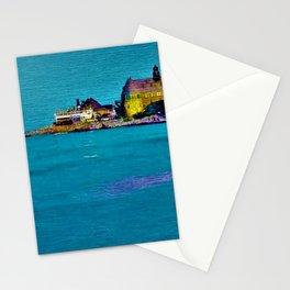 Narragansett Towers, Rhode Island Landscape by Jeanpaul Ferro Stationery Cards