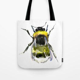 Bumblebee, bee artwork, bee design minimalist honey making design Tote Bag