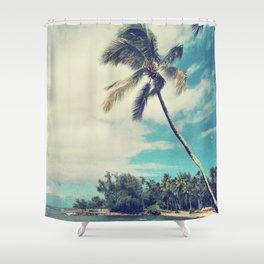 Vintage Tropics Shower Curtain