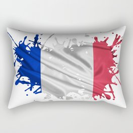 The French Flag Rectangular Pillow