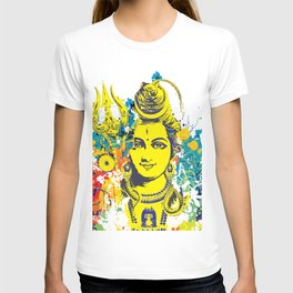 Shiv Fusion: The Resonance of Bliss – Portal to Higher Dimensions T-shirt