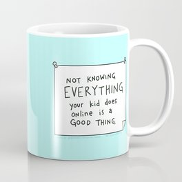 Space to Grow is a Good Thing Coffee Mug