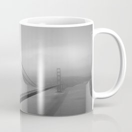 The Golden Gate Bridge In A Mist Coffee Mug