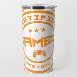 Certified Gamer Travel Mug