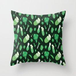 Vegetarian Pattern Throw Pillow