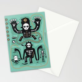 Chamanistik in blue Stationery Cards