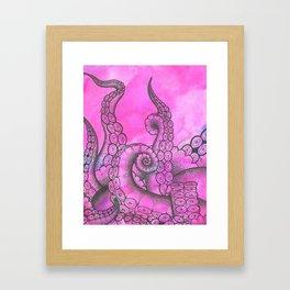 Sweet Tentacles Framed Art Print