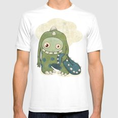 Monster-03 Mens Fitted Tee SMALL White