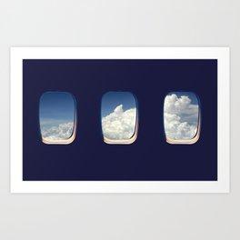 Window Seat Art Print