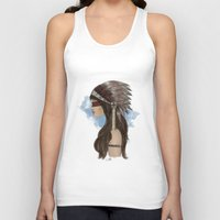 native american Tank Tops featuring Native american by Erika Leiva