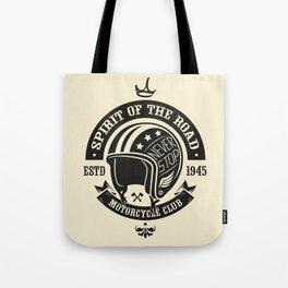 Motorcycle Club Helmet Tote Bag